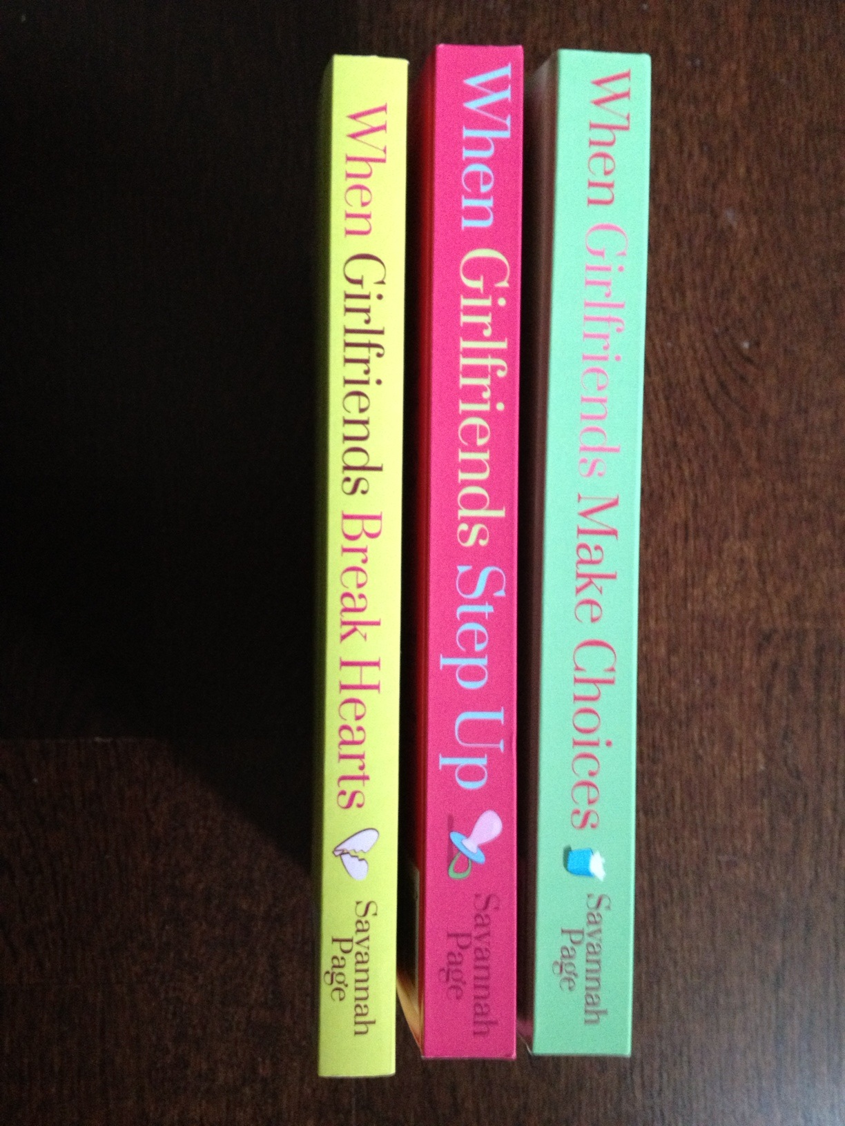 Book Spines - Savannah Page