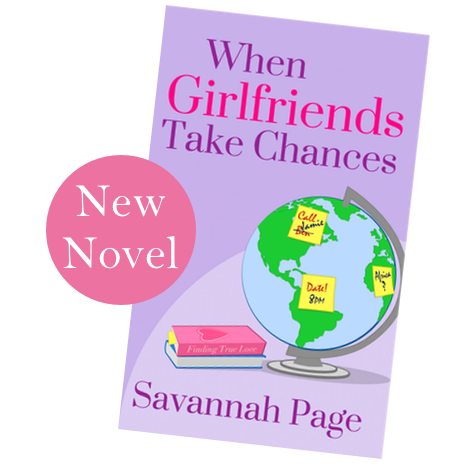 New Novel When Girlfriends Take Chances by Savannah Page