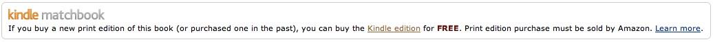 Kindle Matchbook - Savannah Page