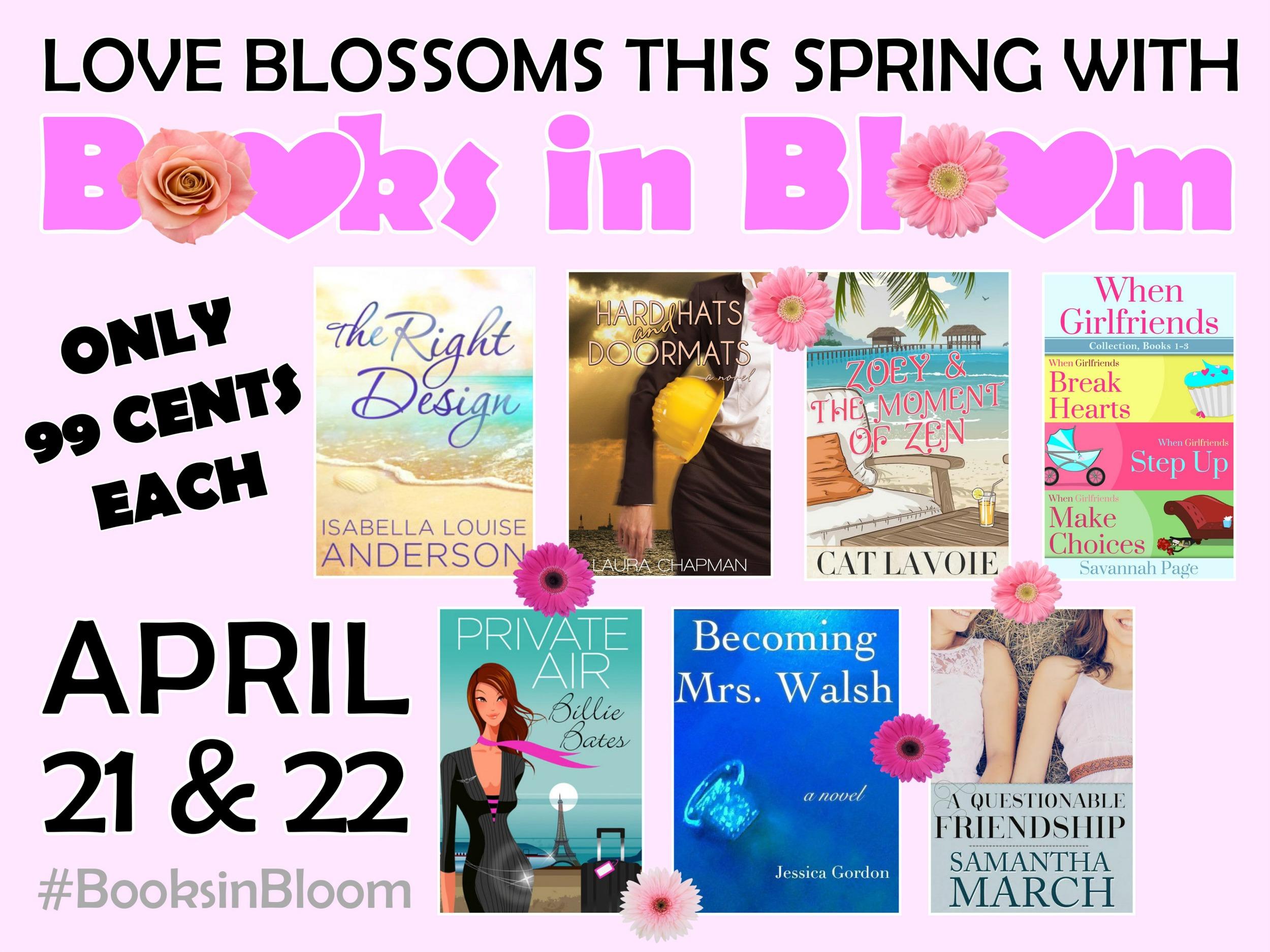 Books In Bloom -Savannah Page