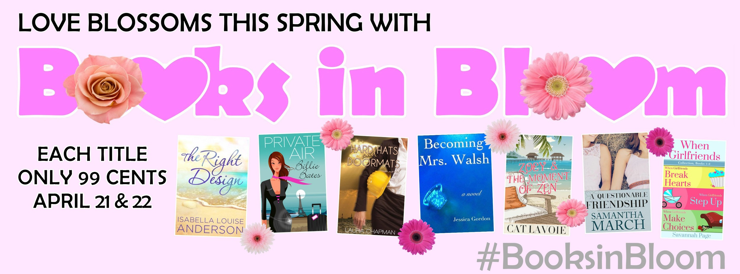 Celebrate Spring with Books In Bloom -Savannah Page