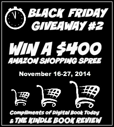 Win a $400 Amazon Gift Card Black Friday Giveaway Kindle Book Review - Savannah Page
