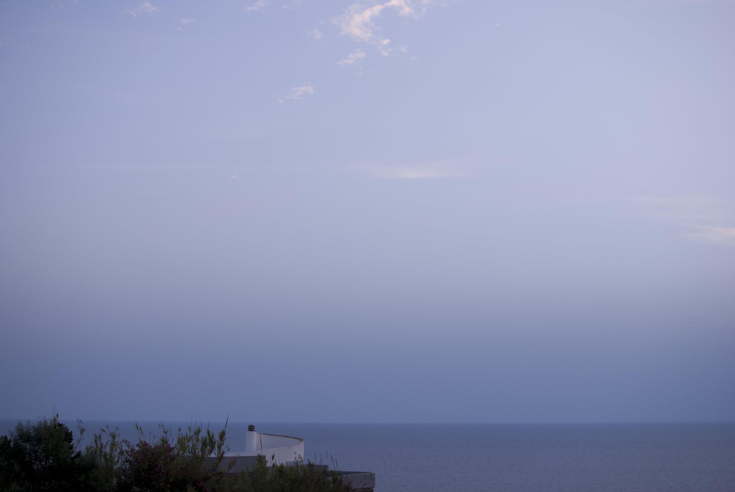 A sunset in Sardinia