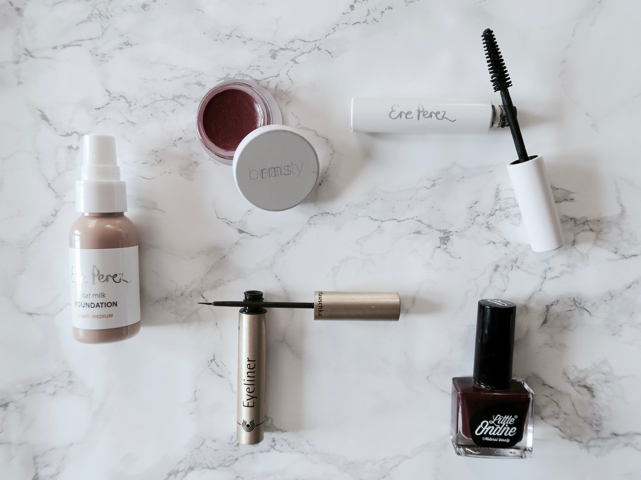 Besma shares a handful of her of her everyday favourite  natural beauty products .