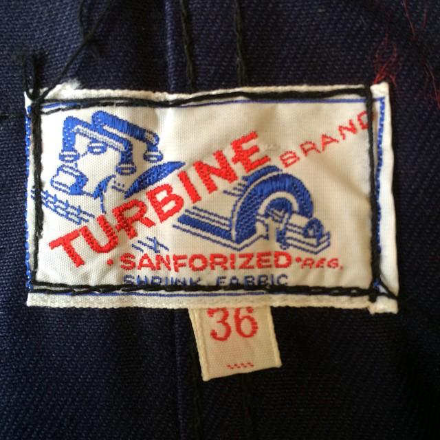 #vintagelabel #label #turbine #vintageworkwear