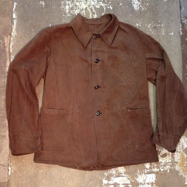 1940s cc41 work jacket  #vintageworkjacket #cc41