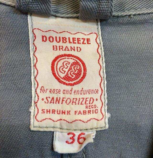 #1950s #vintageworkwear #vintagelabel