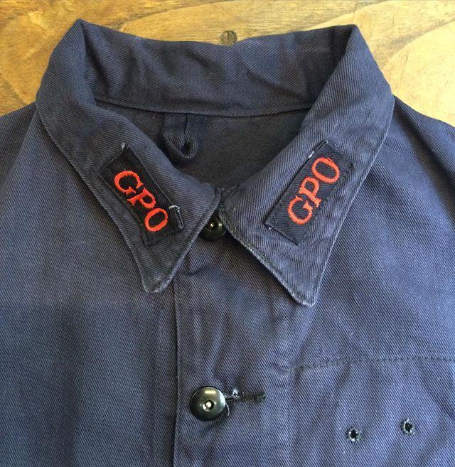 #1950s #deadstock #GPO #workjacket #vintageworkwear