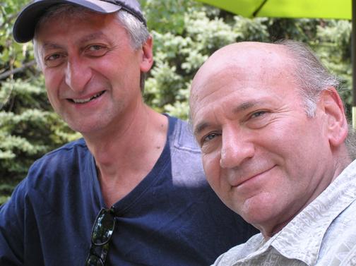 Davie Liebman hanging with Armen