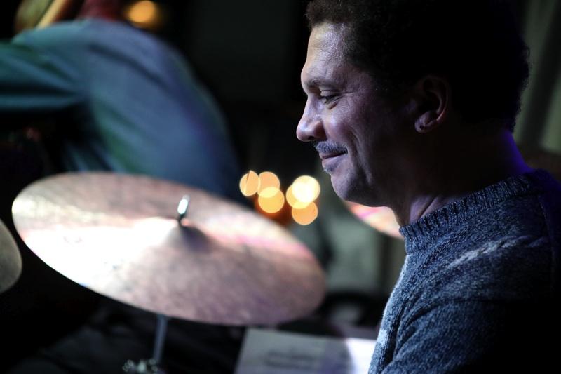 Steve Johns , drums