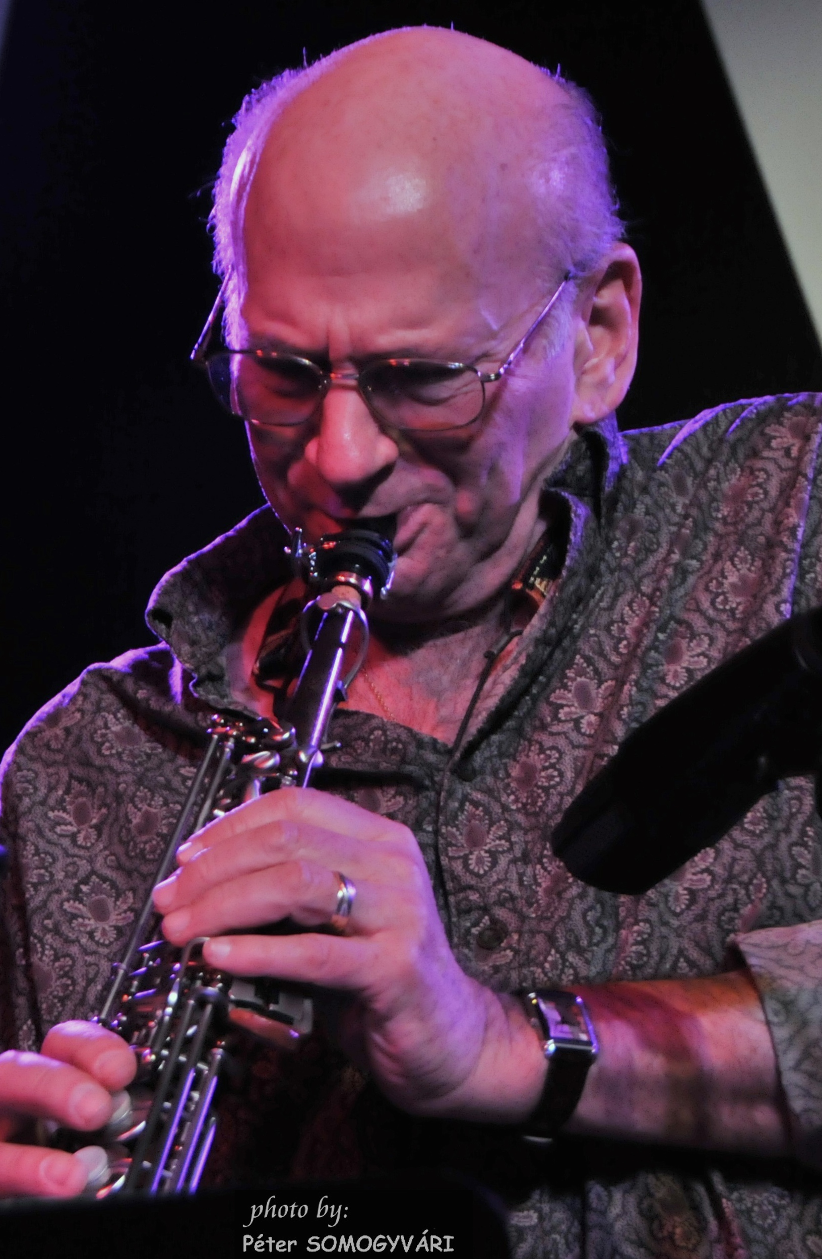 NEA Jazz Master David Liebman, Saxophone