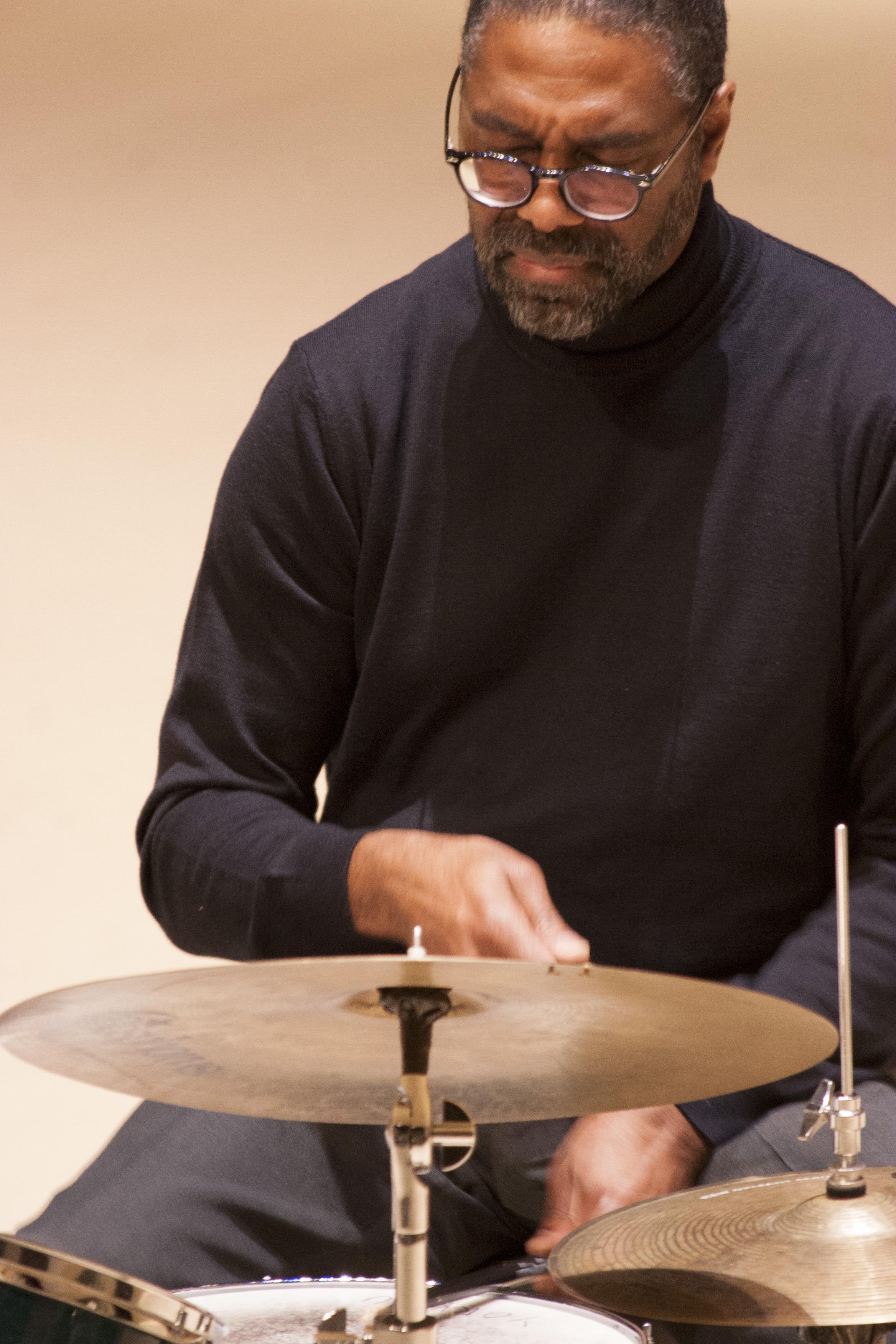 Drummer Dennis Mackrel
