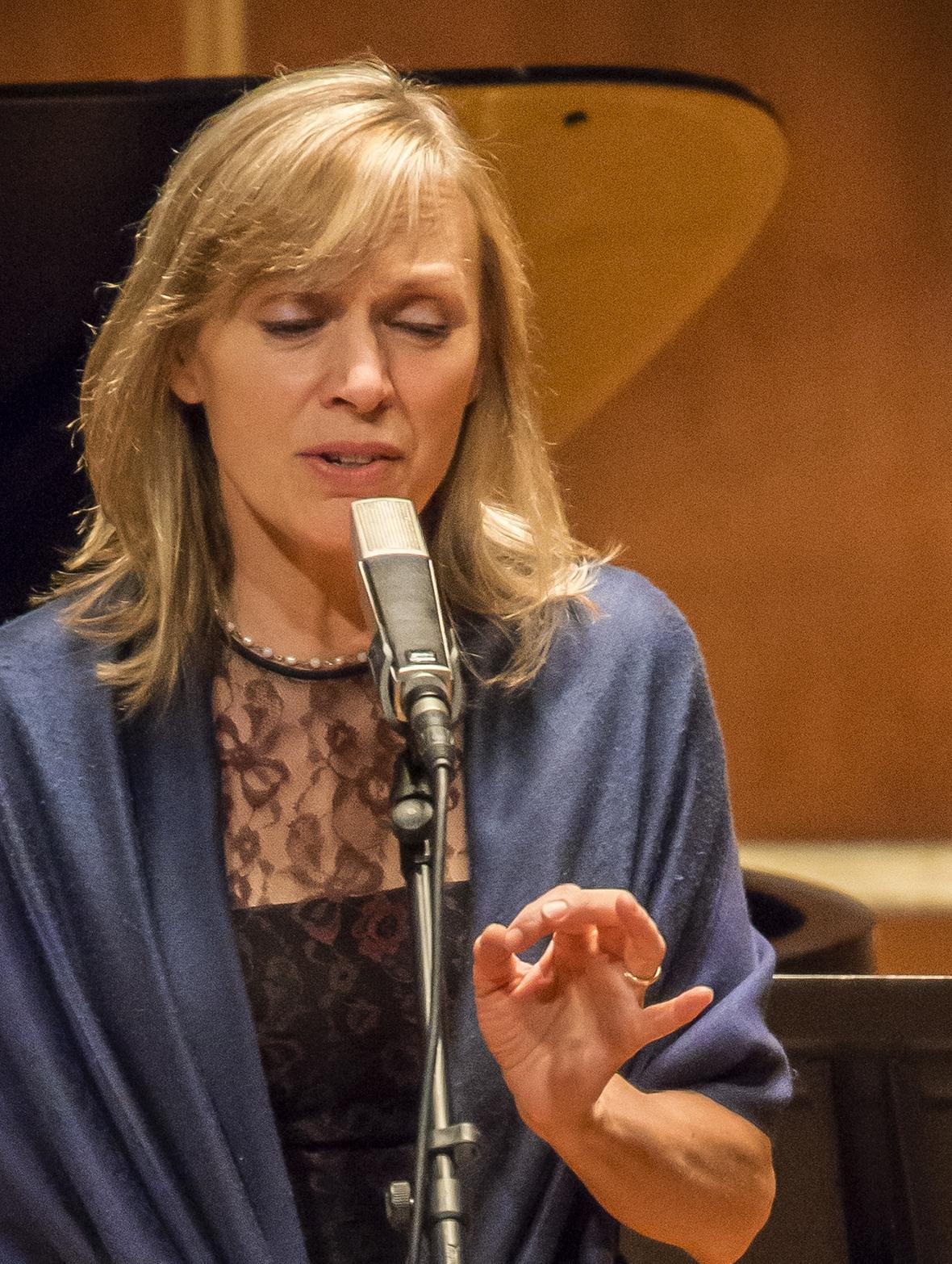 Vocalist Dominique Eade