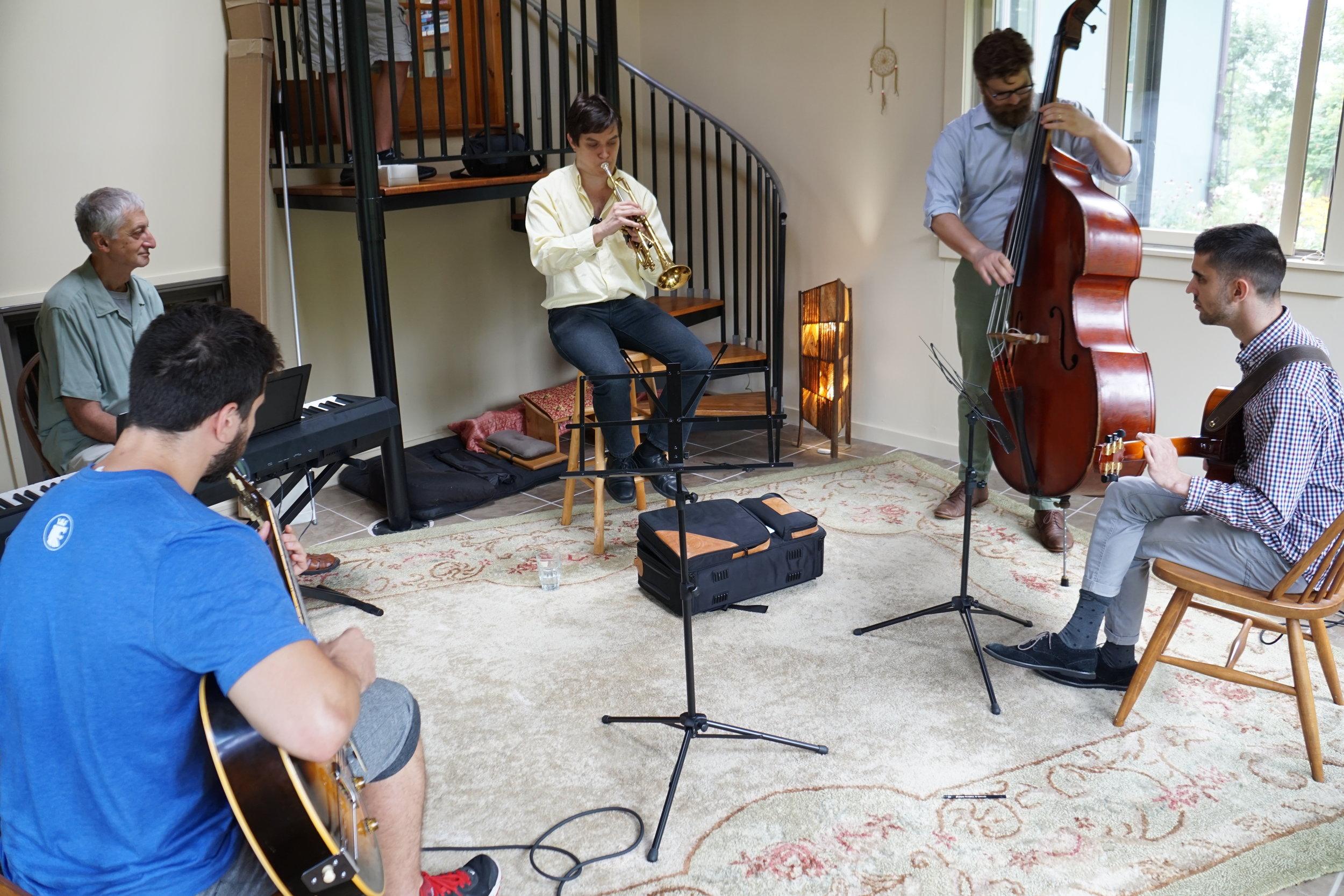 Hudson Jazz Workshop 2017 - Combo session