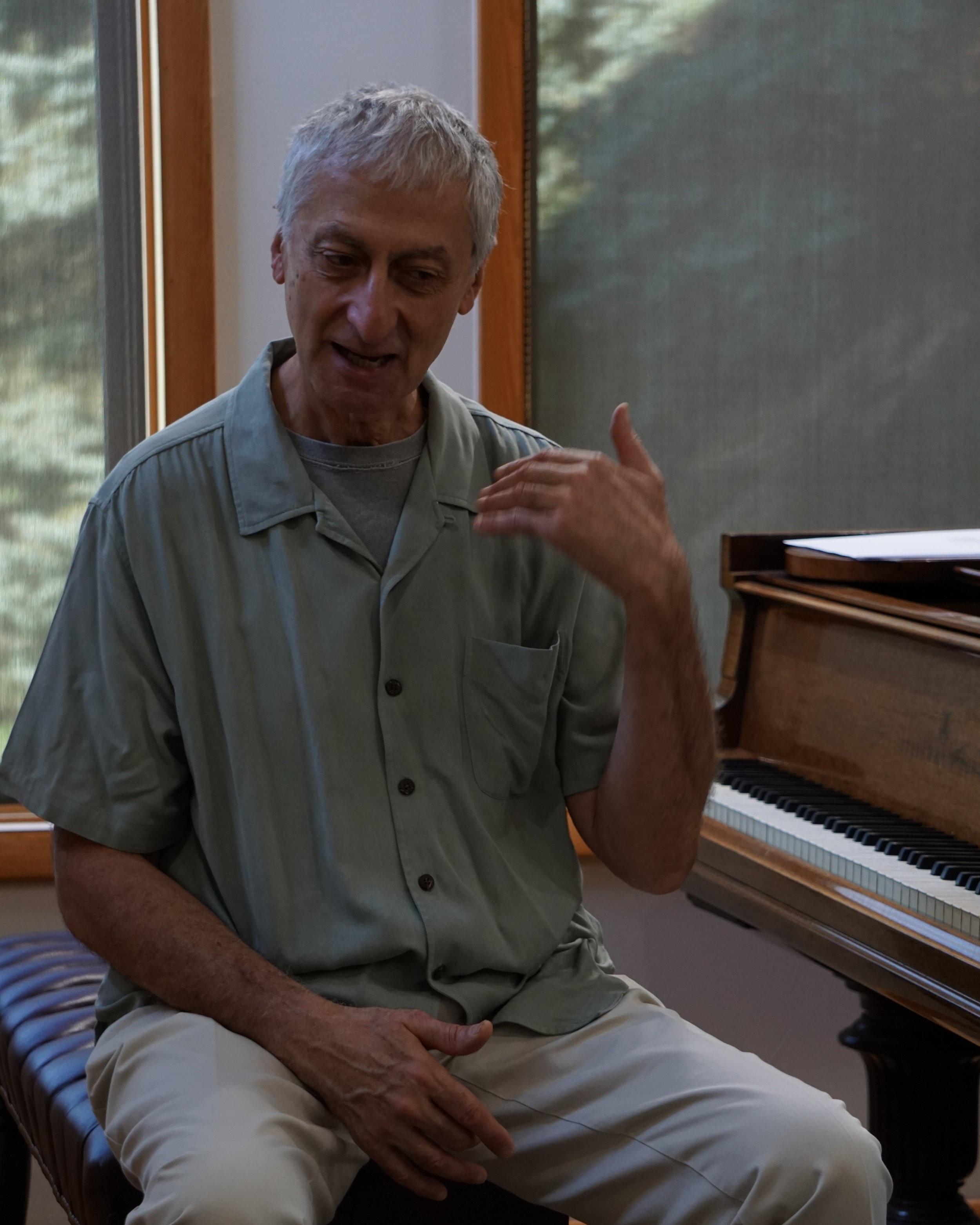 Pianist Armen Donelian, Co-Director
