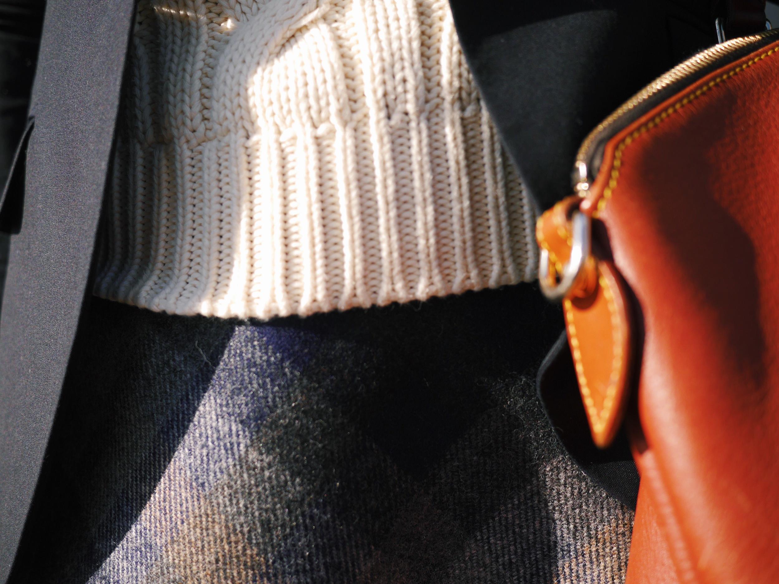 11 Ralph Lauren Cable Knit Turtleneck Brooks Brothers Blue Blazer Brooks Brothers Plaid Skirt Ralph Lauren Riding Boots J Crew Chambray Shirt..jpeg