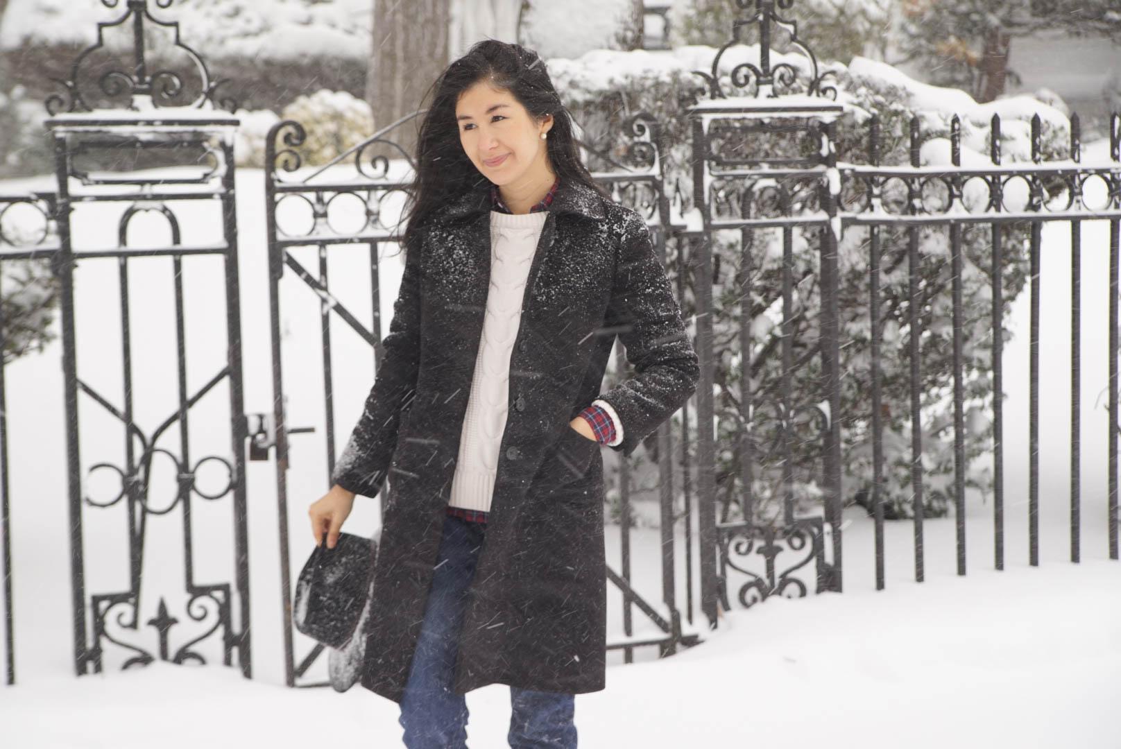 Wnter Storm Jonas Brooklyn New York Ralph Lauren Plaid Shirt LL bean Boots Levis 501 Jeans Brooks Brothers Jacket LL Bean Sweater 3.jpeg