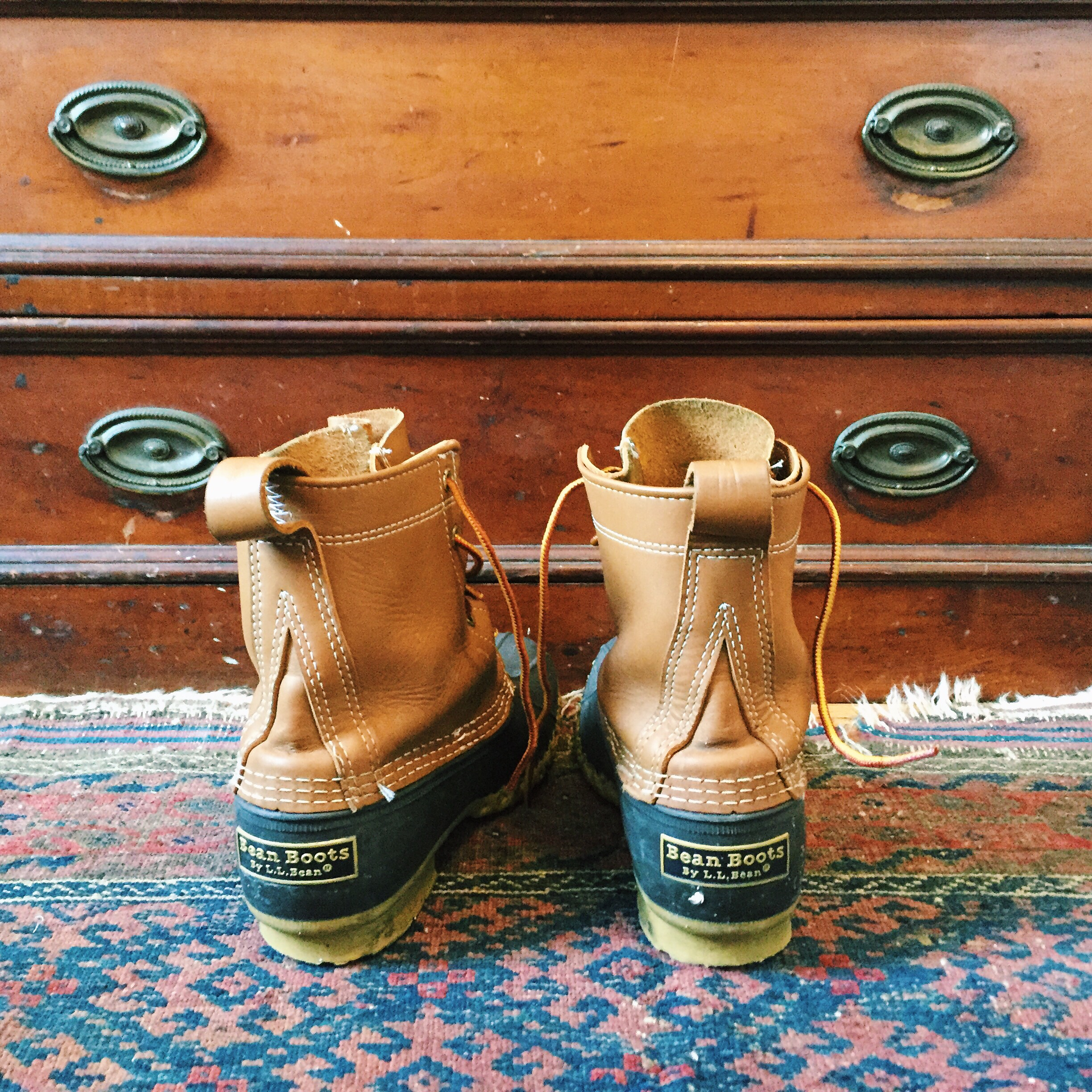 Preppy Style LL Bean Boots