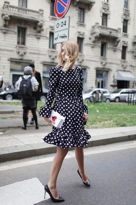 Polka-dot dress outfit idea with heels.jpg