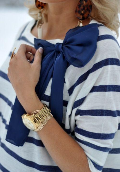 striped shirt with tortoise shell jewelry.jpg