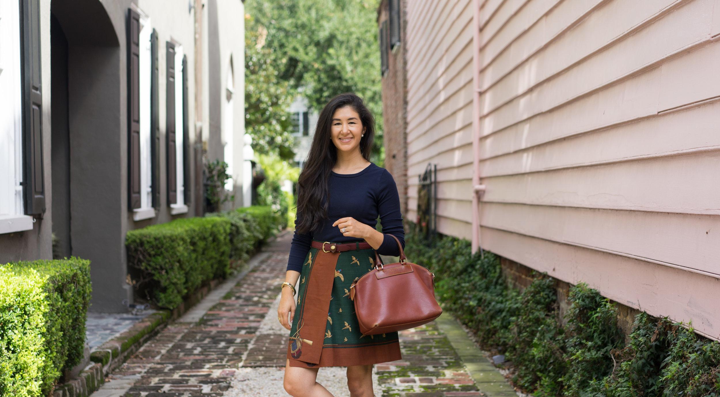 vintage-ralph-lauren-skirt-fall-capsule-wardrobe-charleston-south-carolina.jpg