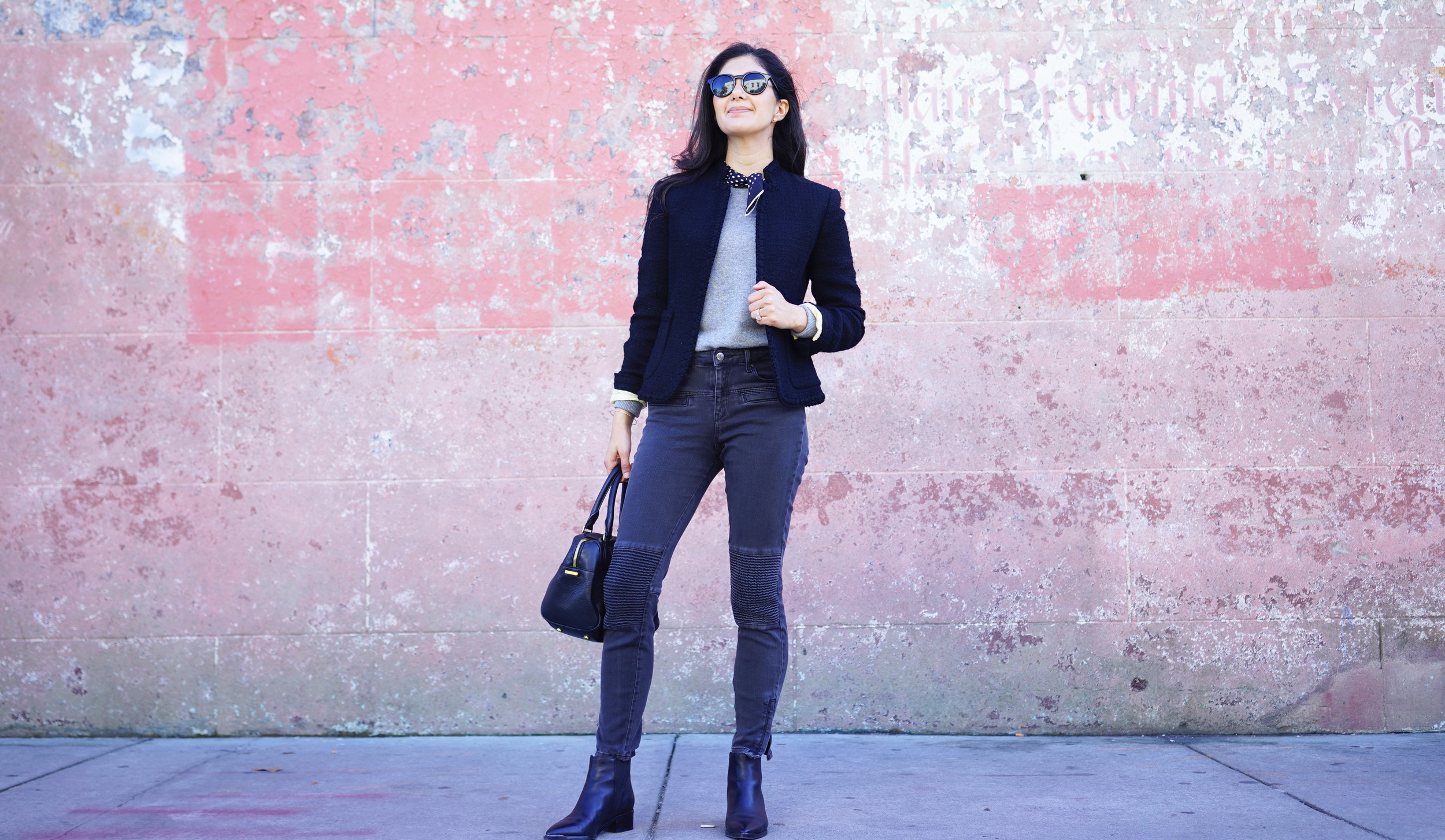 jcrew-tweed-jacket-zara-moto-jeans-silk-scarf-winter-capsule-wardrobe-marc-fisher-yale-dior-sunglasses-charleston-sc.jpg