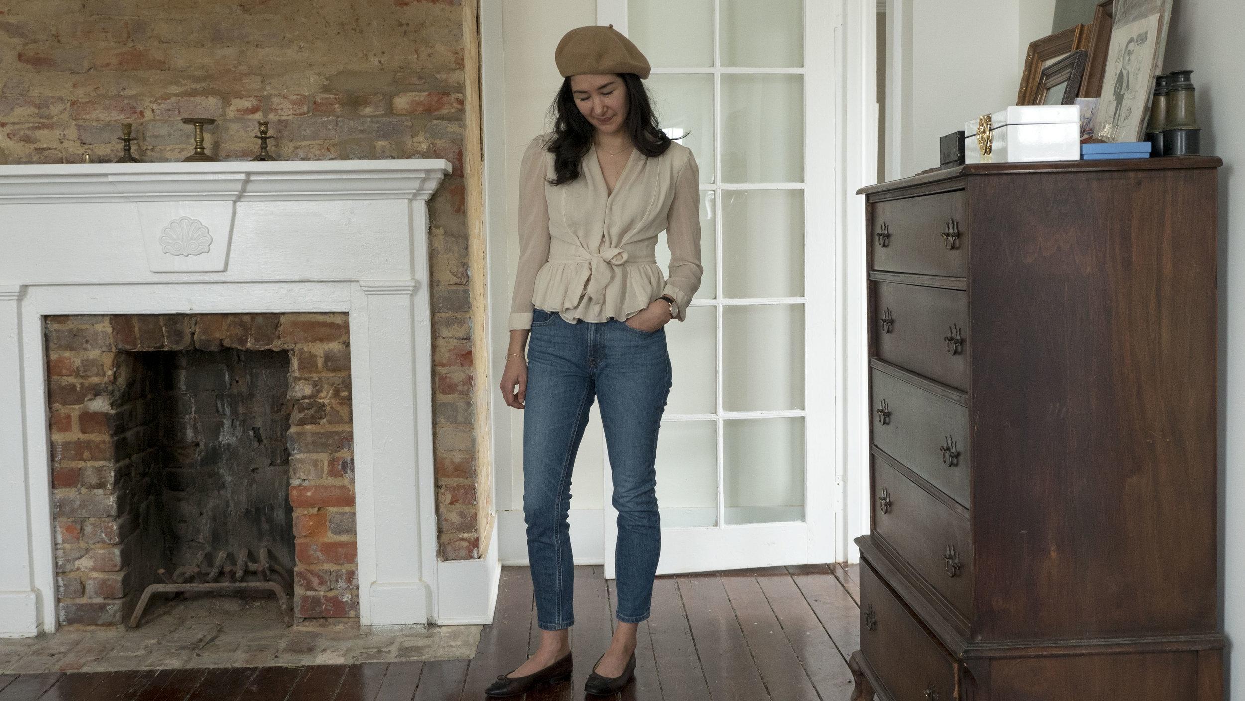 _1022143audrey_a_la_mode_camel-coat-everlane-jeans-jacy-watch-chanel-ballet-flats-round-sunglasses-beret-everlane-cashmere.JPG