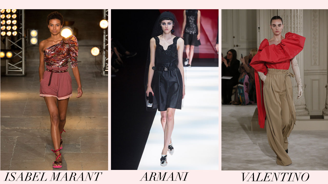 high waist - spring 2018 trends - valentino - isabel marant - giorgio armani.jpg
