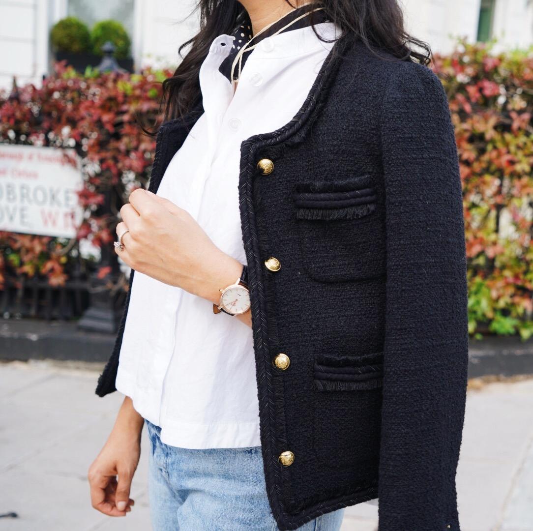 tweed-jacket-silk-scarf-ruffs-signet-ring-jacy-watch-superga-sneakers.JPG