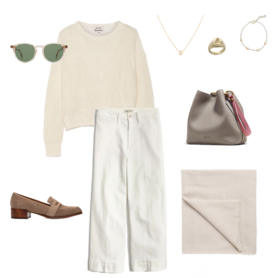 angela-roi-angelou-mini-bucket-thelma-loafers-wide-leg-crop-mejuri-pantos-paris-sunglasses-cuyana-scarf-transparent-sunglasses-ruffs-signet-ring.jpg