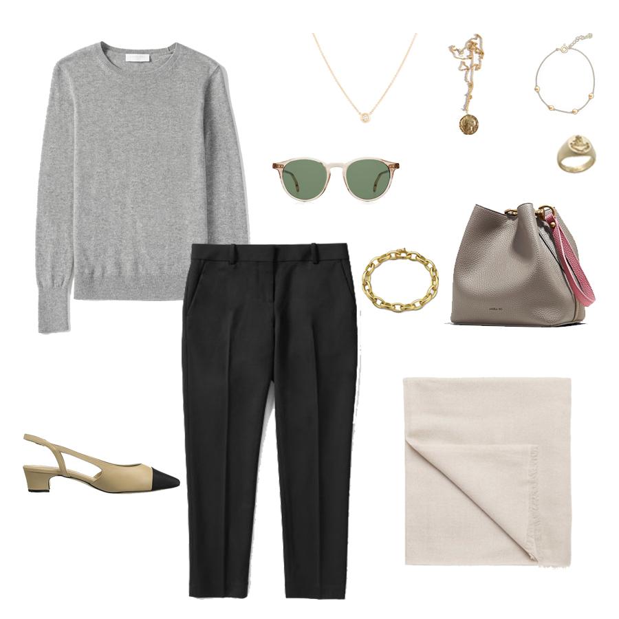 angela-roi-angelou-mini-bucket-thelma-loafers-wide-leg-crop-mejuri-pantos-paris-sunglasses-cuyana-scarf-transparent-sunglasses-ruffs-signet-ring-sabina-savage-scarf-everlane-silk-vaneli aliz.jpg