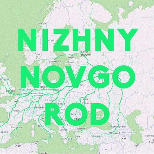Todos los caminos llevan a Nizhny Novgorod. — All roads to Nizhny Novgorod . Basado en el juguete web de James Bridle — Based on James Bridle's web toy . . . . #elpiscinazo #piscinazofutbol #futbolart #footballart #caminoarusia #caminoamoscu #roadtrip #roadtorussia #moscow #moscu #bogota #berlin #madrid #jamesbridle #russia #rusia #nizhny_novgorod #nizhniynovgorod