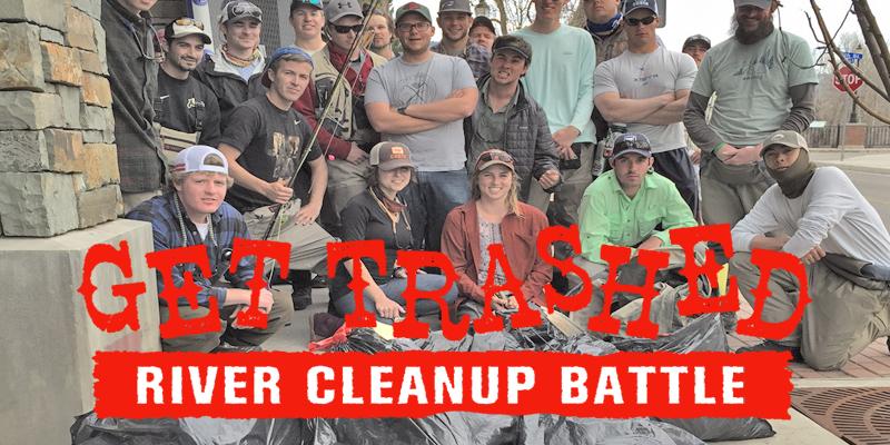 Get Trashed River Cleanup Battle