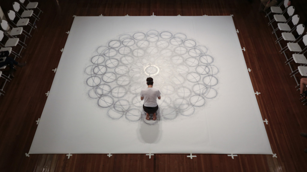 'Penwald: 8: 12 by 12 on Knees' by Tony Orrico