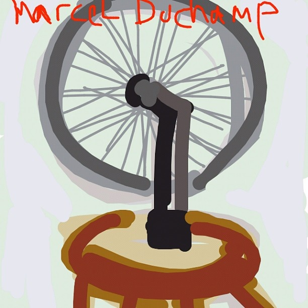 Bicycle Wheel, Marcel Duchamp at @MuseumModernArt