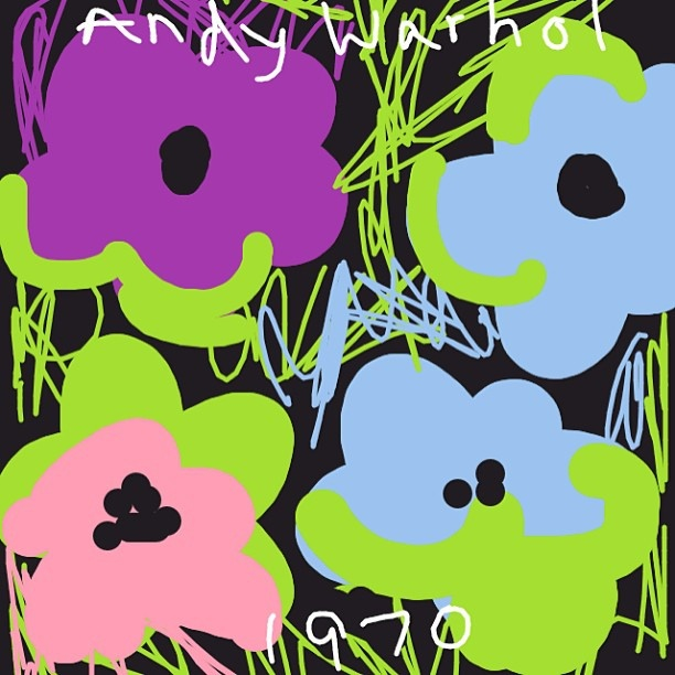 Flowers, Andy Warhol, 1970 at @artsmia
