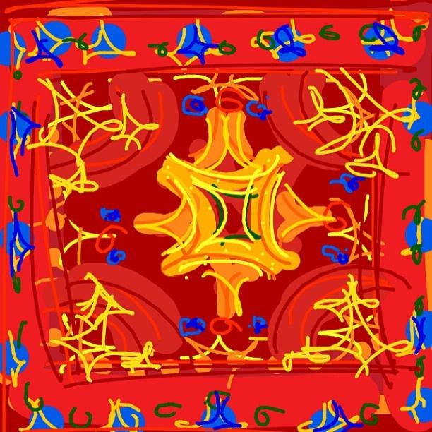 Star Ushak carpet, Turkish Ottoman, late 15th C. at @MetMuseum