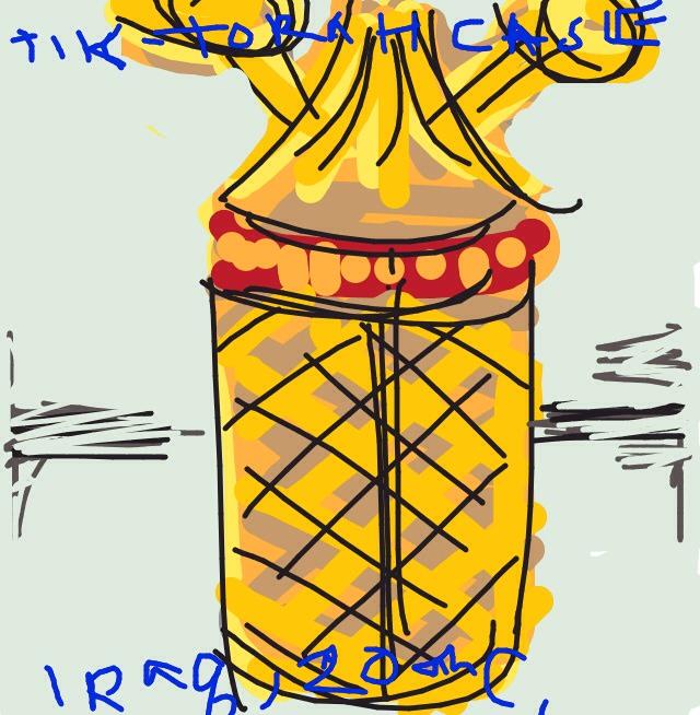 Tik (Torah scroll case). 20th century, Iraq at @artsmia
