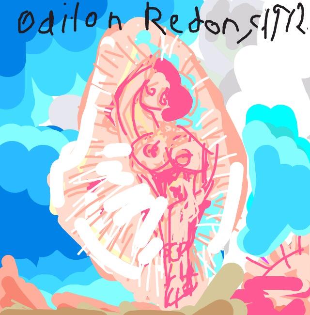 Birth of Venus, Odilon Redon, 1912 at @MuseumModernArt