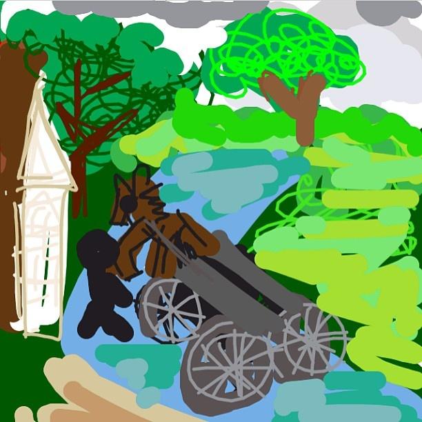 The Hay Wain, John Constable, 1821 at @NationalGallery
