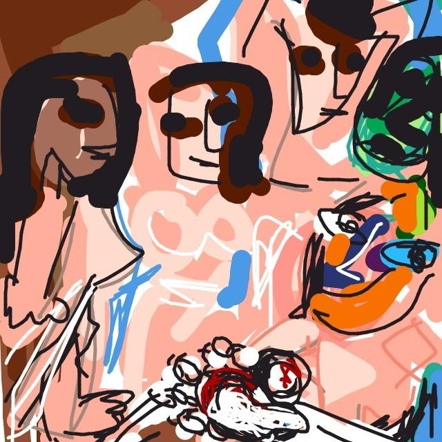 Les Demoiselles d'Avignon, Pablo Picasso, 1907 at @MuseumModernArt