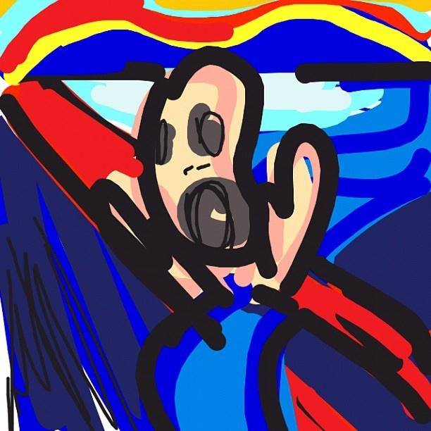 The Scream, Edvard Munch, 1893 @themunchmuseum