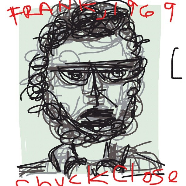 Frank, Chuck Close. 1969 at @artsmia