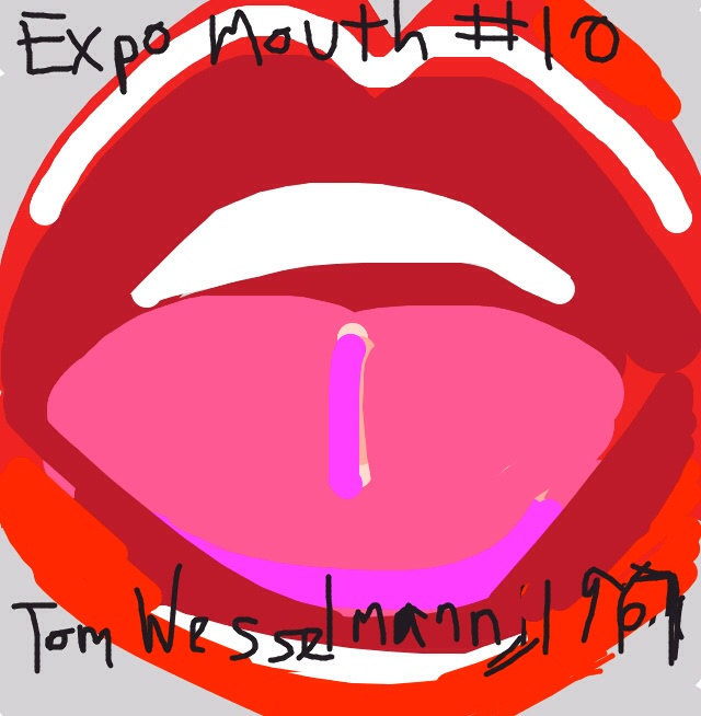 Expo Mouth #10, Tom Wesselmann, 1967 at @artsmia