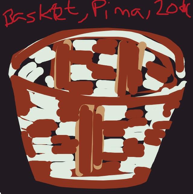 Basket, Akimel O'odham (Pima). 20th century, Southwest region at @artsmia