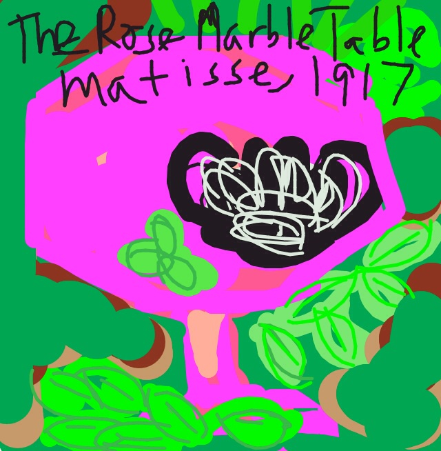 The Rose Marble Table, Henri Matisse, 1917 at @MuseumModernArt