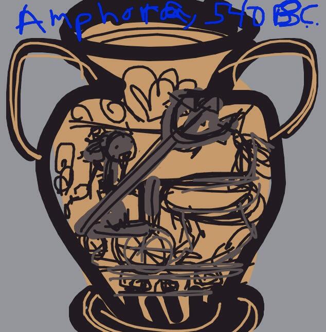 Black-figure Neck Amphora, Attributed to Painter of Vatican 359. 540 B.C., Attica at @artsmia