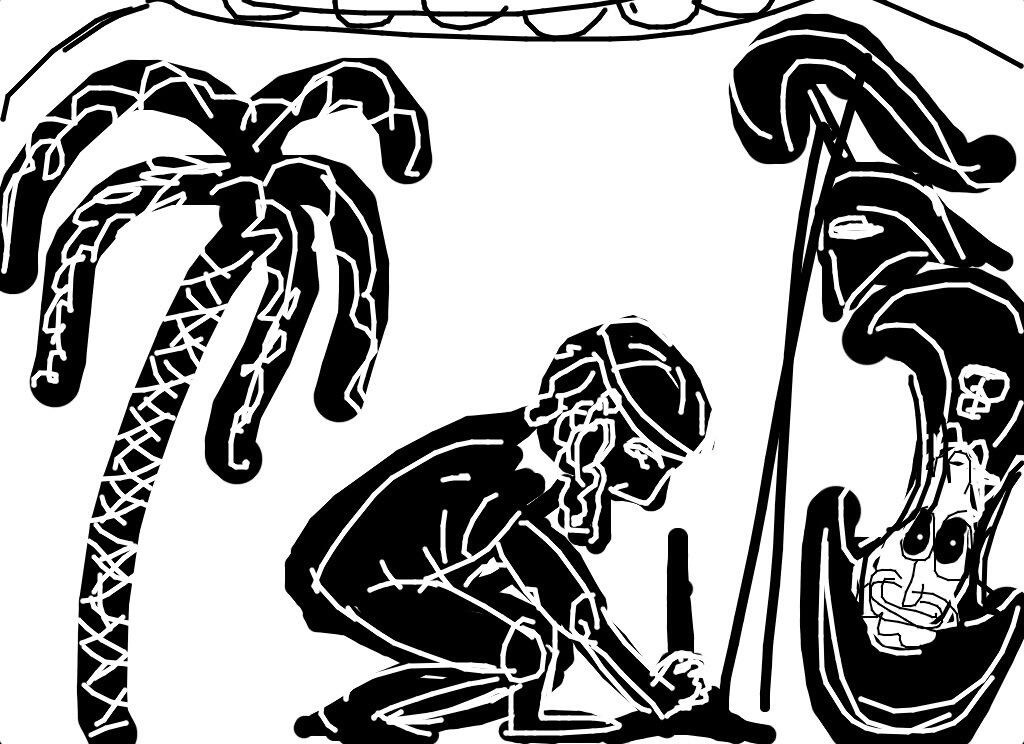 Black-figure Amphora, Exekias, Suicide of Ajax, c. 540 BC
