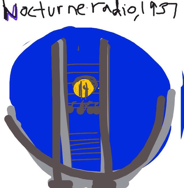 """Nocturne"" radio, Walter Dorwin Teague (United States, North America), c. 1937 at @artsmia"