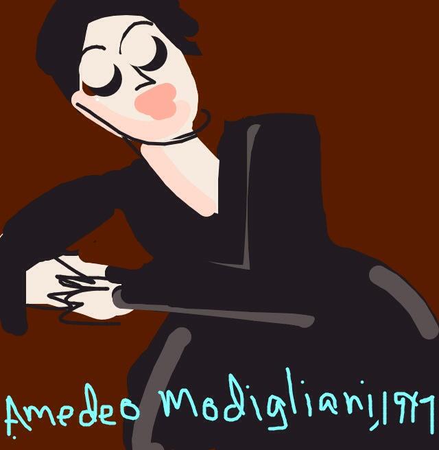 Portrait of Anna Zborowska Amedeo Modigliani, 1917 at @MuseumModernArt